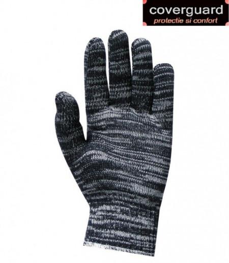 Manusi textile din trei fire, rezistente comode