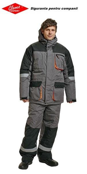 Jacheta de iarna gri Emerton