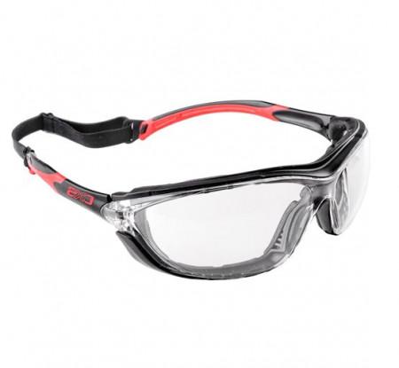 Ochelari protectie incolor cu banda elastica