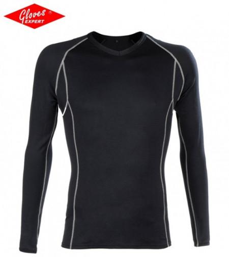 SET bluză de corp si indispensabili negru BODYWARMER