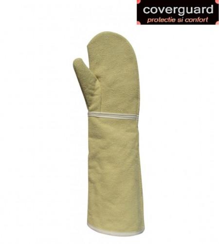 Manusi de protectie termorezistenta, confortabila, cu un deget, lungime 50 cm