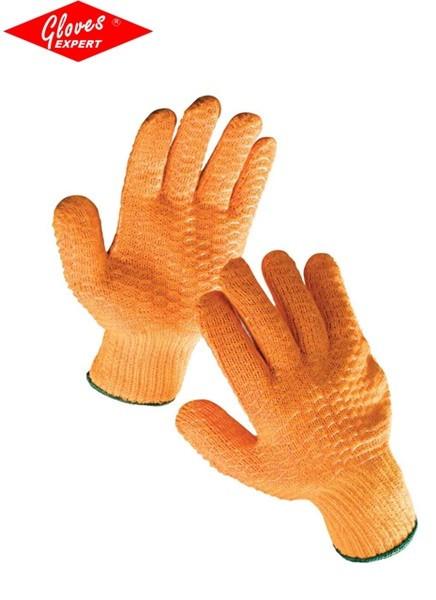 Mănuşi tricotate din nylon-poliester FALCON