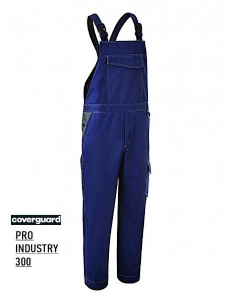 Pantaloni Salopeta model industrial albastru