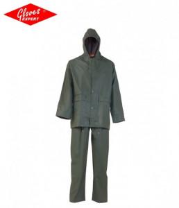 Costum de ploaie confortabil, usor, rezistent la rupere de PU