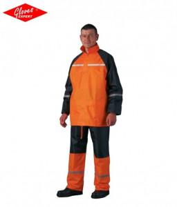 Jachetă + pantaloni de vânt, impermeabil, reflectorizant
