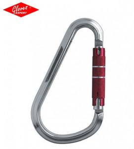 """Carabiniera 220 gr, aluminiu răsucire """"twist lock"""" 90°+ tragere"""