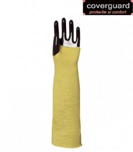 Manseta de protectie impotriva taierii, din fir Kevlar, lungime 35 cm