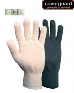 Mănuși de bumbac tricotate cu două straturi împotriva frigului
