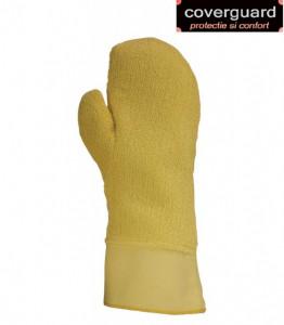 Manusi de protectie, tricot Kevlar, gros termorezistent, rezistent la taiere