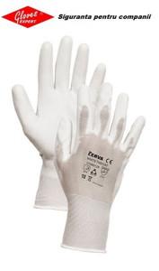 Mănuși ultra-subțiri de nylon ușoare și permeabile din poliuretan WHITETHROAT