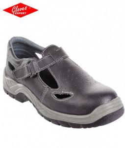Sandale de protectie S1P SANDERITE din piele cu bombeu otel - INDISPONIBIL