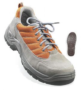 Pantofi protectie SPINELLE S1P de vara cu bombeu Gri-Orange