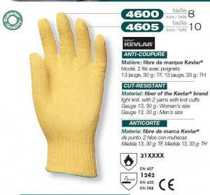 Manusi de Protectie din Kevlar Knit2 antitaiere ignifug 4600