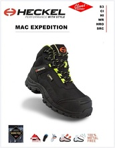 Bocanci de protectie MACEXPEDITION 2.0 impermeabil S3