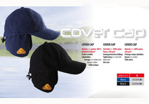 Caciula polar Covercap tip baseball negru