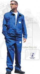 Costum antiacid cu pantaloni talie