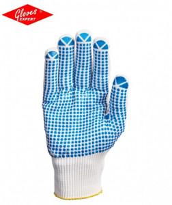 Mănuşi poliamidă/bumbac tricotat rezistente la uzură