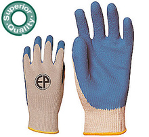 Manusi protectie condensate cu Latex albastru 3870