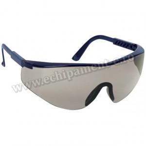 Ochelari de protectie SABLUX Navy Blue cu lentile fumurii antizgarietura