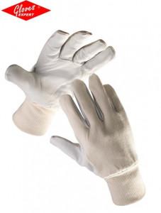Mănuşi din piele fină de capră in palmă PELICAN PLUS