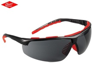 Ochelari de protectie braţe negre, lentile fumurii STREAMLUX