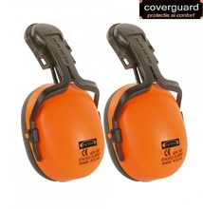 Antifoane externe EARLINE de vizibilitate mare galben si portocaliu fluorescent