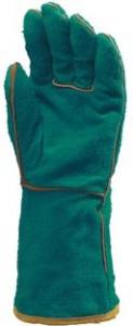 Manusi de protectie sudori verzi rezistente la 250 grade