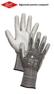 Mănuși tricotate necusute, rezistență la tăiere HS-04-018