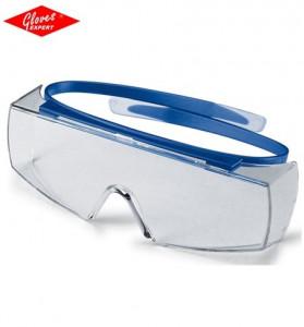 Ochelari de protectie UVEX SUPER OTG rezistent la zgârieturi şi la substanţe chimice