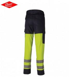 Pantaloni reflectorizante, protecţie pentru sudură