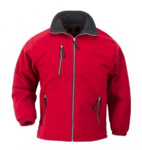 Polar tip jacheta iarna Angara rosu