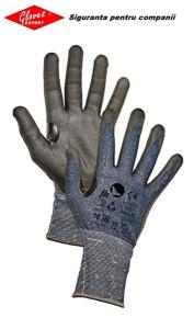 Mănuși necusute tricotate, rezistență la tăiere RALLUS