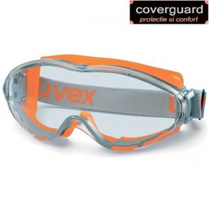 Ochelari protectie 100% UV policarbonat antizgariere,antiaburire,cai indirecte de aerisire UVEX