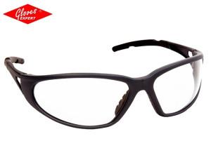 Ochelari protectie ramă gri/neagră, lentile incolore Freelux