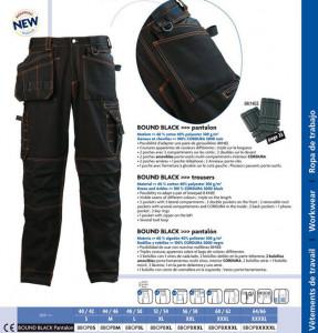 Pantaloni de Lucru Bound Black Confort