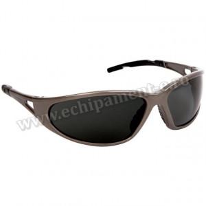 Ochelari de Protectie FREELUX cu protecite laterala incorporata cu lentine inchise policarbonat , antizgarietura polarizata