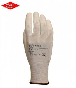 Mănuşi precizie tricotate, elastice, din fibre poliamidă cu fibre de carbon