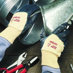 Mănuşi cusute- tricot din bumbac HYLITE 47-400