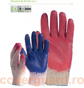 Manusi protectie de uz general impregnate cu Latex albastru 3860 - LICHIDARE
