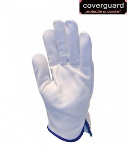 Manusi protectie din piele bovina, rezistente, utilizare universala