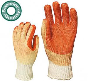 Manusi protectie vulcanizate cu Latex portocaliu 3830