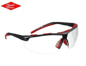 Ochelari de protectie braţe negre, lentile incolore STREAMLUX