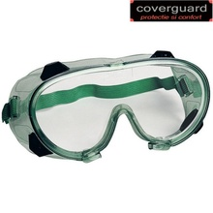 Ochelari de protectie impotriva prafului si lichidelor, cu lentile antiaburire