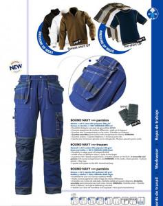 Pantaloni de lucru talie Bound Azur- Pret Lichidare Echipamente de protectie