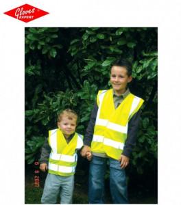 Vestă pentru copii, reflectorizant, fluorescent