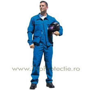 Costum antiacid cu pantaloni pieptar