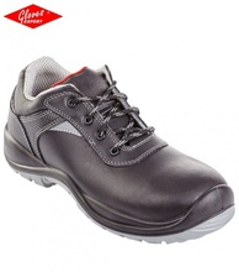 Pantofi de protectie S3 rezistenti, piele bovina,neagra respiranta