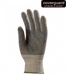 Manusi de protectie din fibre mixte, rezistente la taiere si uzura
