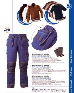 Pantaloni Talie Bound Navy Konfort