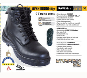 Bocanci de protectie S3 Aventurine Composite